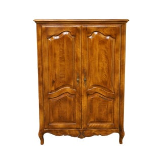 Ethan Allen Country French Collection Media Armoire For Sale