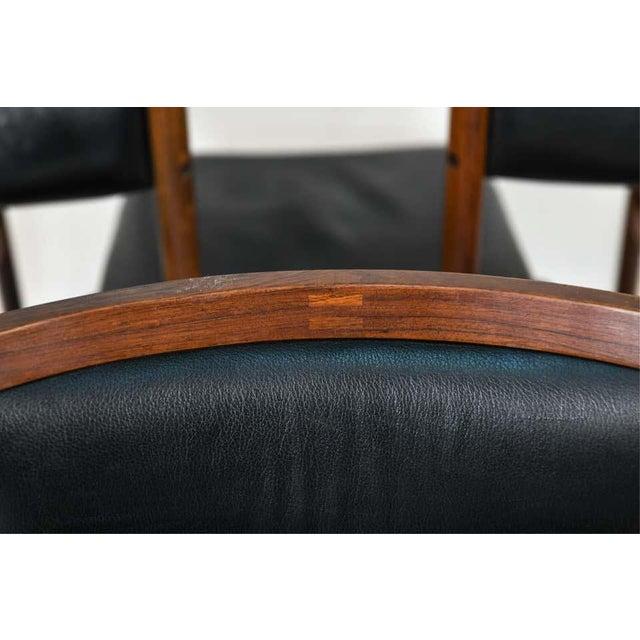 Six Mid-Century Modern Danish Dining Chairs, Soro Stolefabrik Denmark, Rosewood For Sale In New York - Image 6 of 13