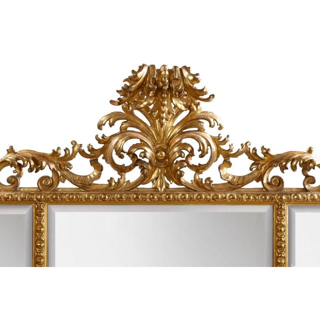 Italian Carved Mirror - Image 3 of 5