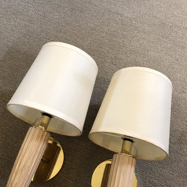 2010s Transitional Boyd Lighting Piedmont Sconces - a Pair For Sale - Image 5 of 12