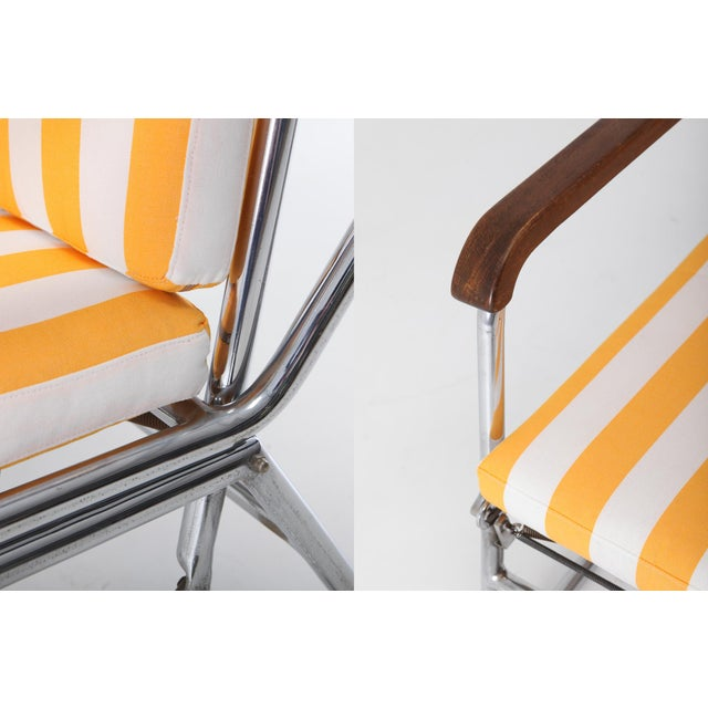 Chrome Tubular Chrome Lounge Chair For Sale - Image 7 of 11