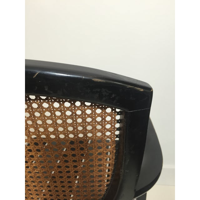 Hepplewhite Style Ebony Chinoiserie Chair - Image 6 of 10