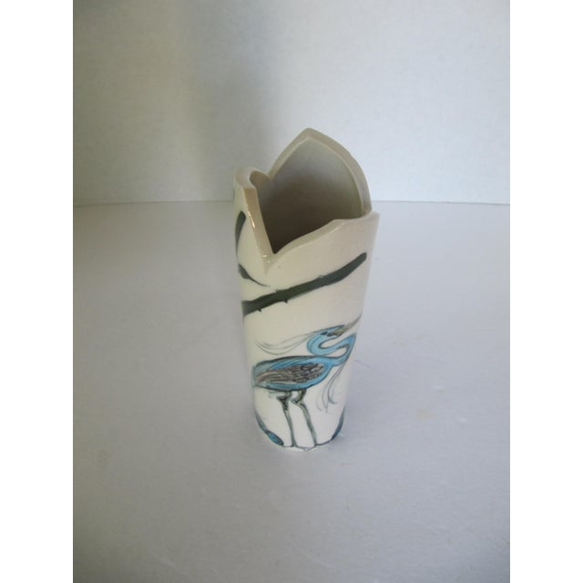 Crane Vase - Image 5 of 7