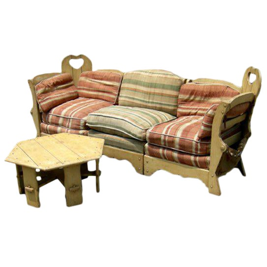 Monterey Style Sectional Sofa Suite - Image 1 of 7