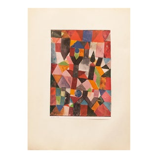 1955 Paul Klee, Invention (With the Dovecote) First Edition Lithograph For Sale