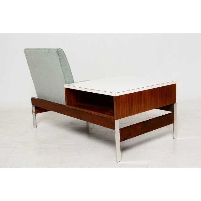 Mid-Century Seat & Table - Image 7 of 10
