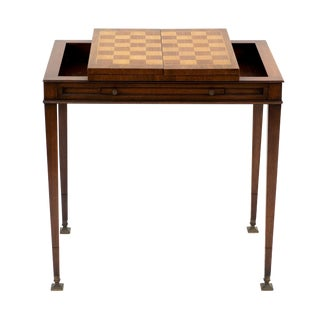 1950's Vintage Weiman Mid CenturyMahogany Game Table