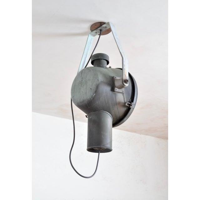 Industrial Bag Turgi Copper Lantern, Switzerland For Sale - Image 3 of 11