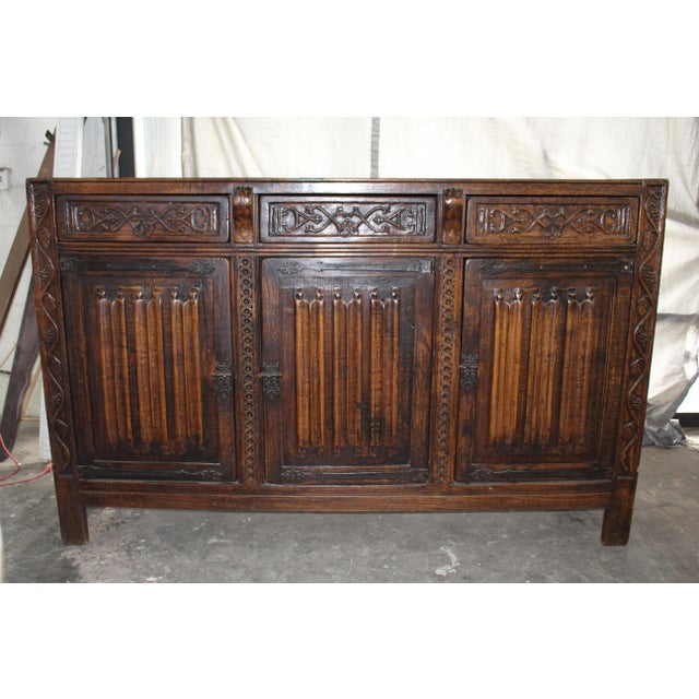 French 18th Century French Neoclassical Buffet/Sideboard For Sale - Image 3 of 12