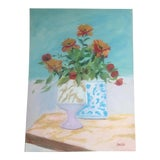 Image of Still Life With Poppies' Painting For Sale