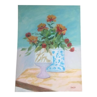 Still Life With Poppies' Painting For Sale