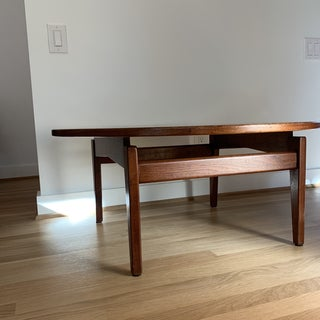 Jens Risom Floating Coffee Table Walnut Preview