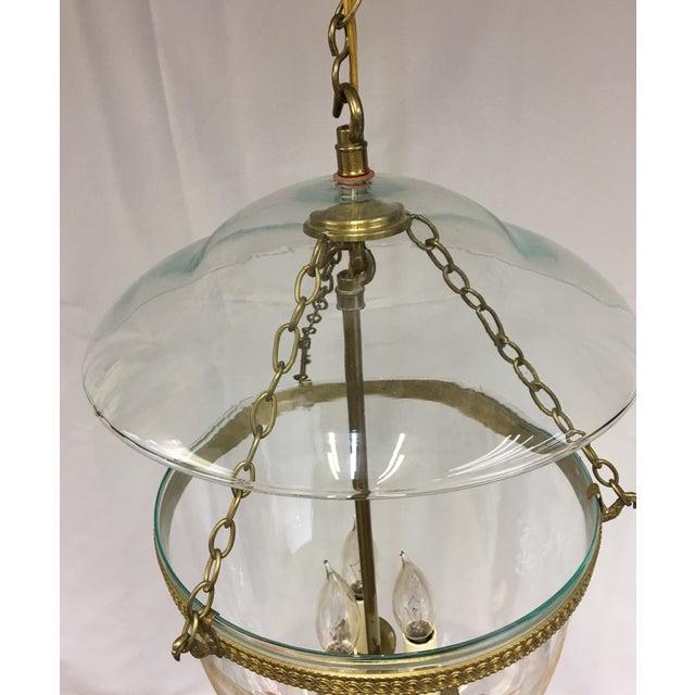 Vaughan Adam Hall Globe Lantern - Brass For Sale - Image 4 of 7