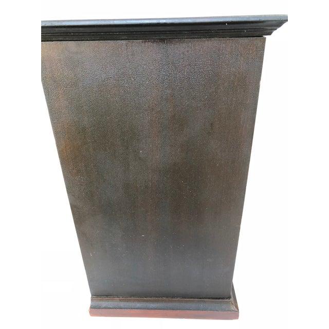 Antique Solid Wood Desk For Sale - Image 9 of 11