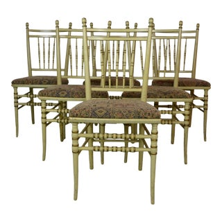 Bistro Chairs Set of 6 For Sale