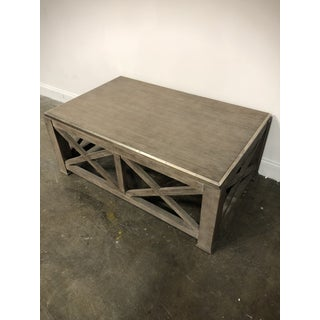 Rustic Lillian August for Hickory White Burleigh Slim Coffee Table Preview