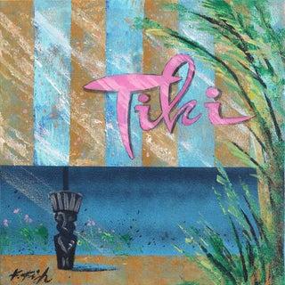 """Tiki Dreams"" Original Artwork by Kathleen Keifer For Sale"