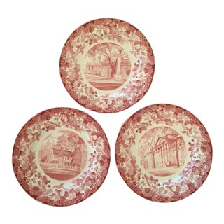 Wedgwood Harvard Plates- Set of 12