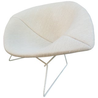 Bertioa Knoll Large Rocking Diamond Chair in Cato Fabric For Sale