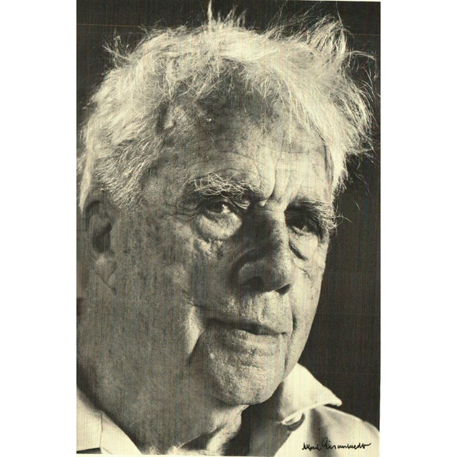 1970s Vintage Robert Frost A Pictorial Chronicle Hardcover Book For Sale - Image 5 of 7