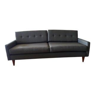Mid-Century Modern Style Joybird Gray Sofa