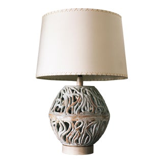 Squiggle Ovoid Lamp by Clate Grunden For Sale