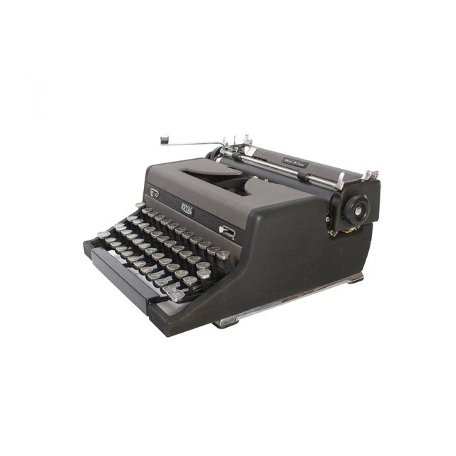 Royal Quiet DeLuxe Typewriter - Image 4 of 7