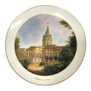 1840 Vintage Kpm Berlin Porcelain Plate For Sale