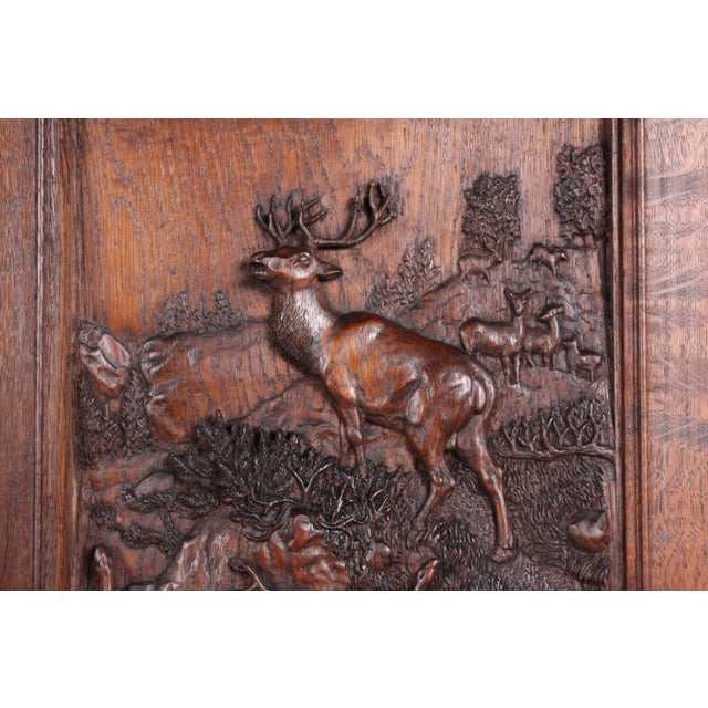 19th-Century Black Forest German Cabinet - Image 5 of 11