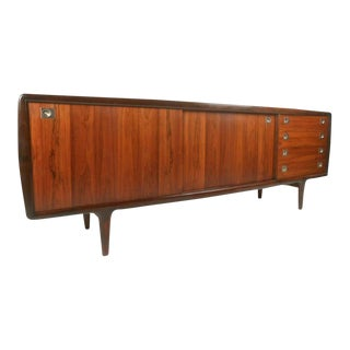 Mid-Century H. P. Hansen Rosewood Sideboard For Sale
