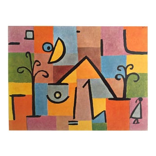 """Paul Klee Rare Vintage 1960 1st Edition Modernist Lithograph Print """" Oriental Sweet """" 1938 For Sale"""