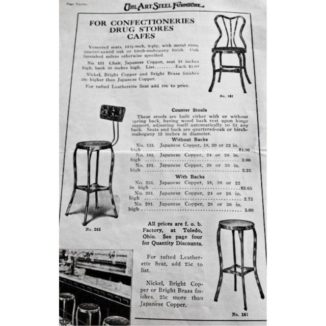 "Toledo ""Uhl Art Steel"" Chairs - Pair - Image 4 of 4"