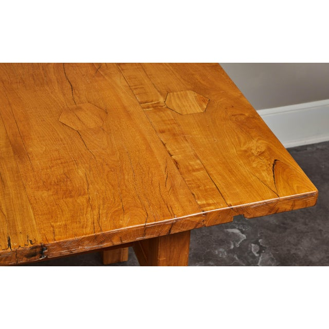 Brown Rare 19th Century Solid Molave Wood Table For Sale - Image 8 of 10