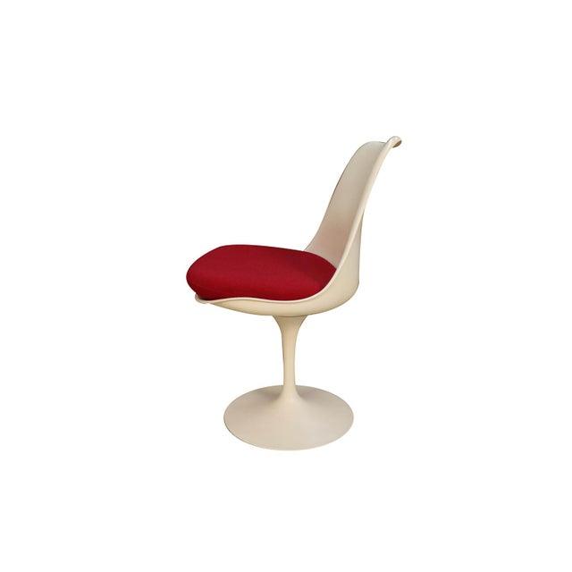 Four Knoll Eero Saarinen Swivel Tulip Chairs For Sale In Baltimore - Image 6 of 12