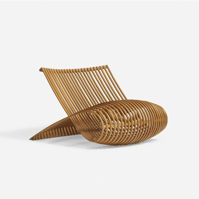 Marc Newson Marc Newson Lounge Chair For Sale - Image 4 of 4
