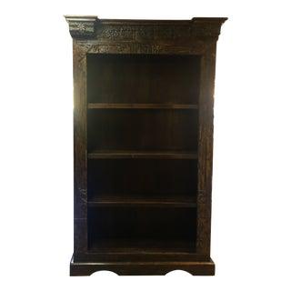 Antique Ornate Bookshelf For Sale