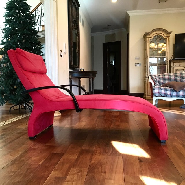 Dania Red Giselle Chaise Lounge - Image 6 of 6