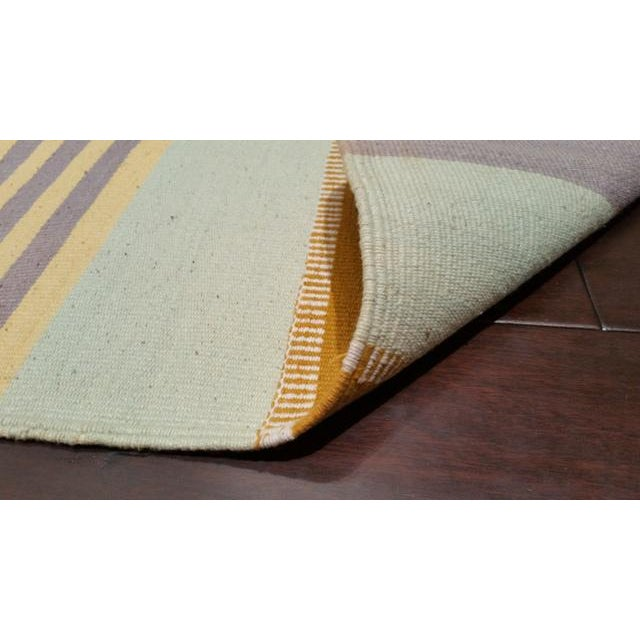 Cotton Handmade Dhurrie Rug - 9'7'' X 15'8'' - Image 3 of 3
