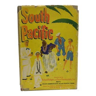 1949 South Pacific a Musical Play Rodgers Hammerstein Logan Book For Sale