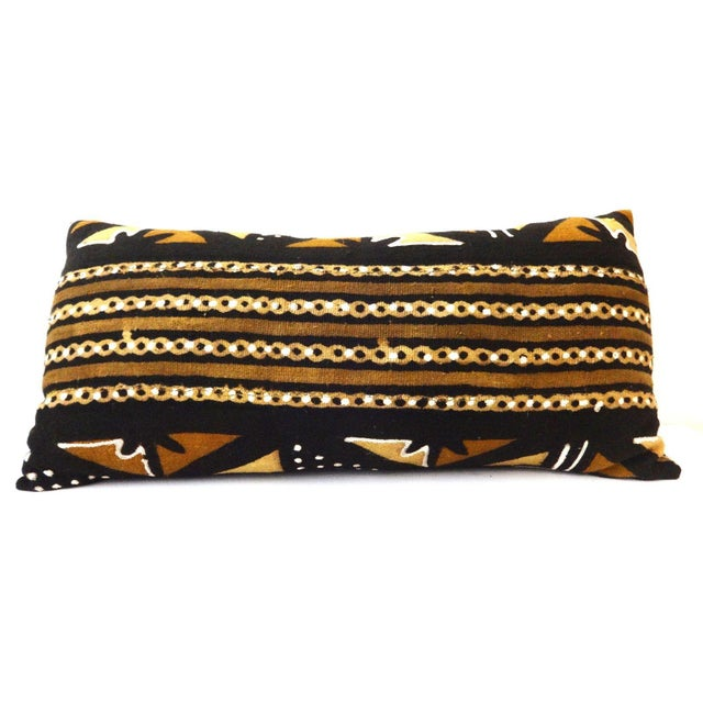 Mud Cloth Long Pillow - Image 7 of 9
