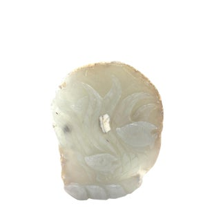 Chinese Agate Fish Statue For Sale