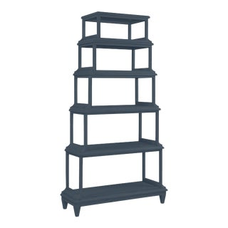 Jules Etagere, Hale Navy For Sale