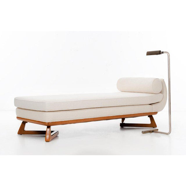 Mid-Century Modern Paul Laszlo Chaise For Sale - Image 3 of 9