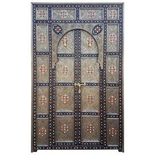 Moroccan Meknes All Inlaid Door For Sale