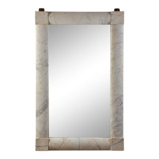 Large Marble Mirror, Usa, Circa 1940 For Sale