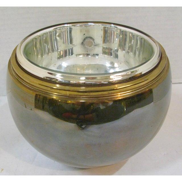 Art-Deco Apple Ice Bucket by Apollo Studio, 1920 For Sale - Image 4 of 11