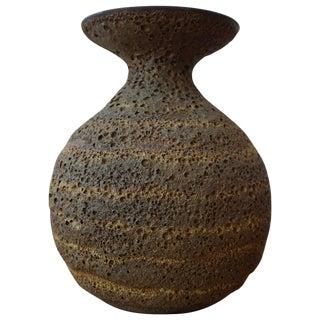 James Lovera Lava Glaze Ceramic Vase For Sale