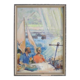 Sailors at Rest Painting