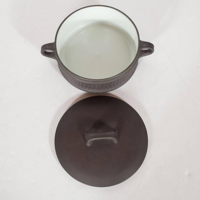 Mid-Century Dessert and Coffee Service, Jens Harald Quistgaard for Dansk For Sale - Image 9 of 10