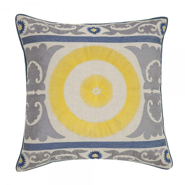 Sunshine Embroidered Pillow - Image 3 of 3